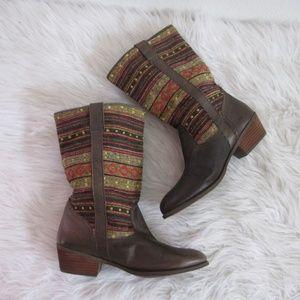 Steve Madden Western Boots Womens Sz 9.5M Cowgirl